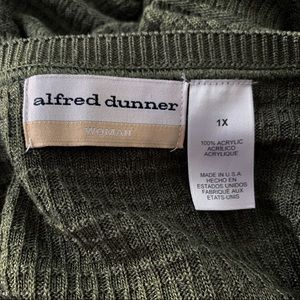 Alfred Dunner Sweaters - Alfred Dunner Block Knit Sweater Top